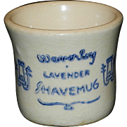 Vintage Waverley Shaving Mug and Shaving Brush