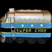 Vintage San Francisco Music Box Silver Chief Train