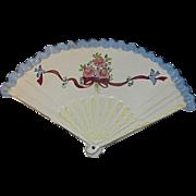 Vintage Provincial Pottery Original Fan Wall Pocket by Rosemarry Koeff