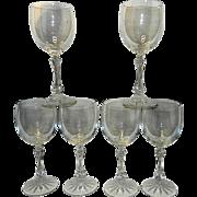 Vintage Galway Stemware Water or Tea Glasses by Belleek