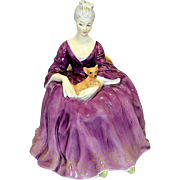 Vintage 1971 Charlotte Royal Doulton Figurine