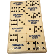 Vintage Ultra Thick Tournament Quality and Size Dominoes