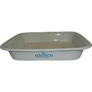 Vintage Corning Ware Blue Cornflower A21 Roasting Pan
