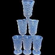 Vintage Fostoria American Juice Glasses