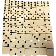 Vintage Standard Size Extra Thick Rounded Corners Dominoes