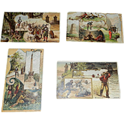 Antique Arbuckle Coffee Pictorial History of the United States and Territories 1892 Series Trading Cards