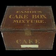 Antique Leavitt & Peirce Famous Cake Box Mixture Tobacco Tin
