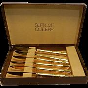 Vintage Supreme Cutlery Knife Set