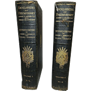 Antique Encyclopedia of Freemasonry Volumes 1 & 2 1918