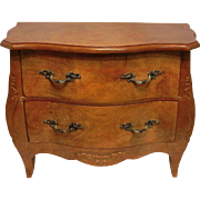 Vintage Bow Front  Dresser Vanity Box