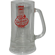 Vintage Falstaff Beer Mug World's Fair 1968 San Antonio Texas Hemisfair