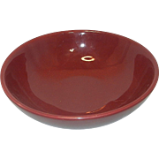 Vintage Hall Salad or Pasta Bowl #1282 Maroon