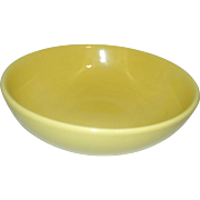 Vintage Hall Salad or Pasta Bowl #1282 Yellow