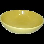 Vintage Hall Salad or Pasta Bowl #1282 Yellow