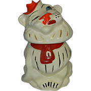 Vintage Belmont Ludowici Lion Cookie Jar