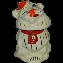 Vintage Belmont Ludowici Lion Cookie Jar