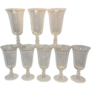 Vintage Cambridge Regency Stradivari Stem Iced Tea Goblet Pattern 3573