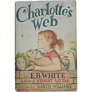 Vintage E. B. White Charlotte's Web Copyright 1952