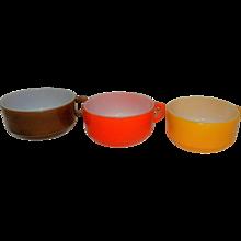 Vintage Fire King Milk Glass Soup Mugs