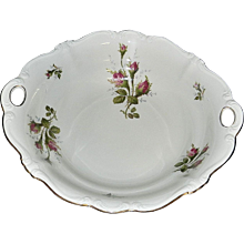 Rosenthal Moss Rose POMPADOUR Pattern Serving Bowl