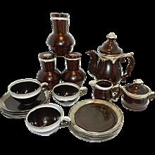 Vintage Drip Ware Coffee Set