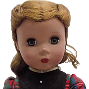 "14"" Madame Alexander Little Women Maggie Jo Doll Tagged"