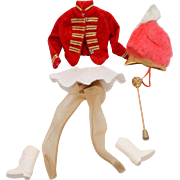 Barbie Doll #875 Drum Majorette Major Vintage Outfit