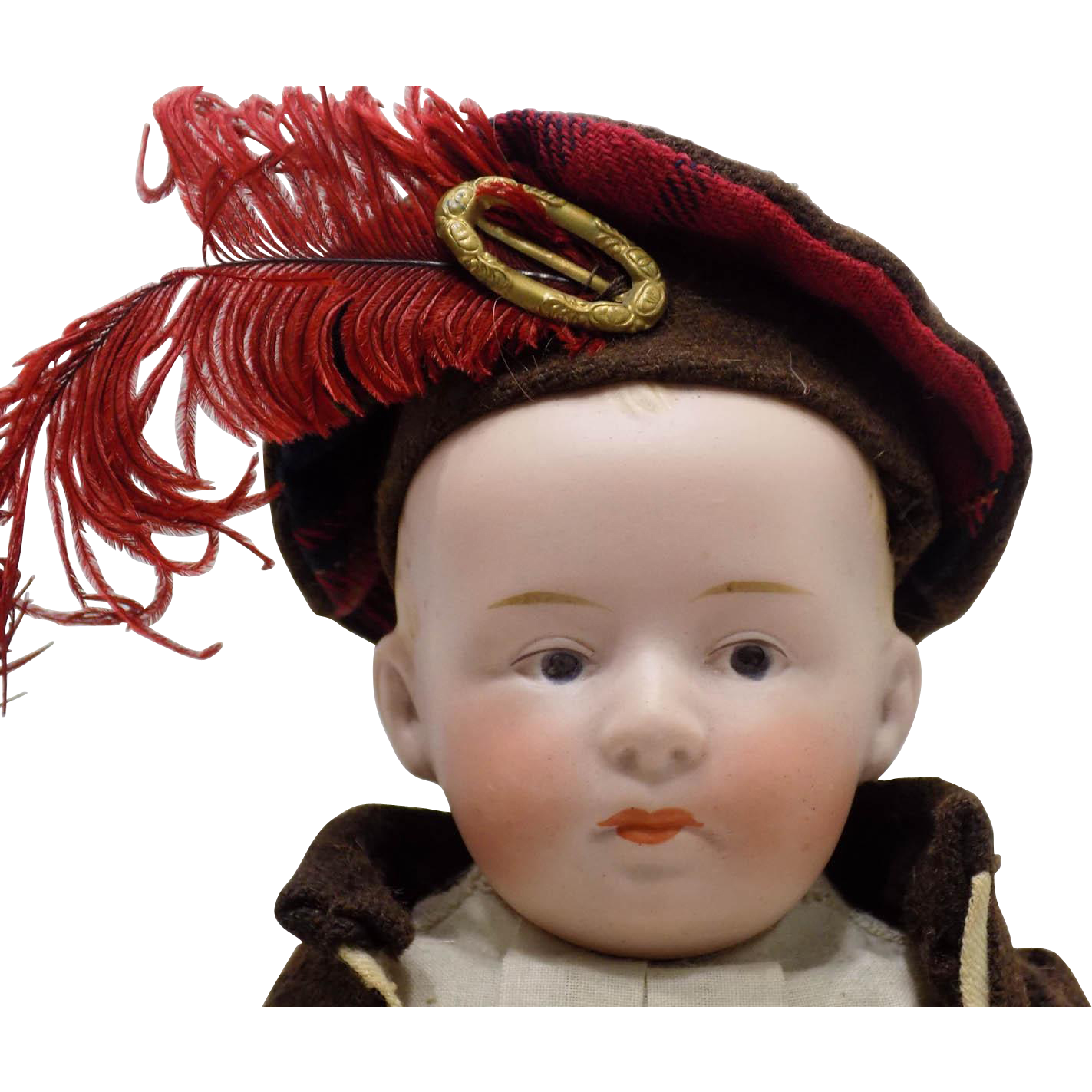 Antique German Heubach Pouty Mouth Doll Original Clothes