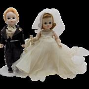 Madame Alexander-kins Wendy Bride and Groom