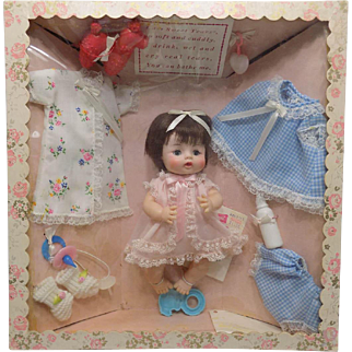 MIB Vintage Madame Alexander Sweet Tears Doll with Presentation