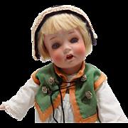 Antique German Kammer & Reinhardt Toddler Baby Doll #126 All Original Star Fish Hands CUTE
