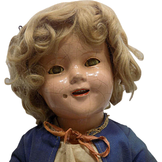 """18"""" Ideal Shirley Temple Doll Composition"""