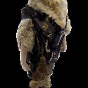 Antique French Fashion SFBJ 60 Mannequin Doll Flapper