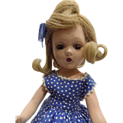 Madame Alexander Composition Wendy Ann Doll All Original Tagged Clothes