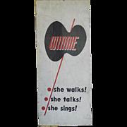 Vintage Wanda Walking Talking Doll W/Box She Works