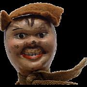 Old Wood Schoenhut Circus Hobo Doll