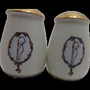 Rose O'Neill Kewpie Doll Salt & Pepper Shakers Shaker Bavaria