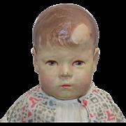 "16"" Antique German Kathe Kruse Doll #1 All Original"