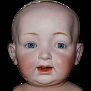 "HUGE Kestner 211 Character Baby Doll to Dress 24"""