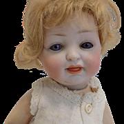 Antique German Hertel & Schwab #150 Character Baby Doll