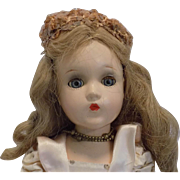 "Vintage 14"" Madame Alexander Composition Fairy Princess Doll Margaret Face"