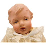Antique German Gebruder Heubach Character Baby Doll #9167 CUTE!!!