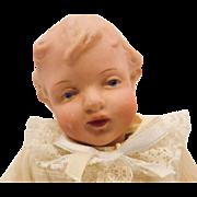 Antique German Gebruder Heubach Character Baby Doll #9167 CUTE!!!