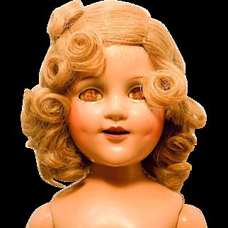 "Vintage 20"" Composition Madame Alexander Sonja Henie Doll to Dress"