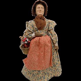Vintage Lewis Sorensen Doll Lady Portrait Doll