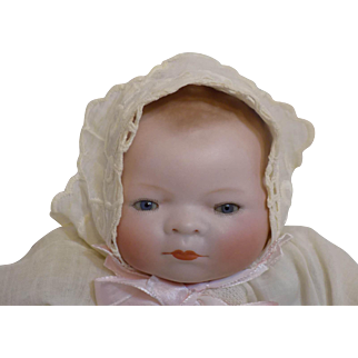Antique German Grace Putnam Bye-Lo Byelo  Baby Doll Tagged Gown