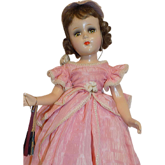 Vintage Arranbee R&B Nancy Composition Doll in Gown