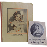 "18"" Ideal Shirley Temple Doll Composition Book & Story"