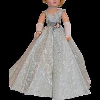 1957 Vintage Madame Alexander Cissy Doll Gown Opera Gown