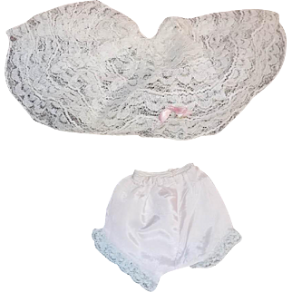 Vintage Cissy Doll Lace Slip and Panties